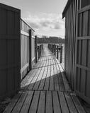 Ο λιμενοβραχίονας Στοκ φωτογραφία με δικαίωμα ελεύθερης χρήσης