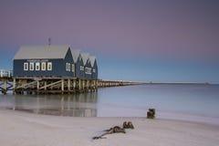 Λιμενοβραχίονας Busselton Στοκ εικόνες με δικαίωμα ελεύθερης χρήσης
