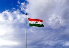Ο ινδικός τρίχρωμος κυματισμός στο hall of fame, Leh Στοκ φωτογραφίες με δικαίωμα ελεύθερης χρήσης