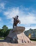Ο ιππέας χαλκού, Αγία Πετρούπολη Στοκ φωτογραφίες με δικαίωμα ελεύθερης χρήσης