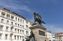 Ο ιππικός Victor Emmanuel ΙΙ μνημείο στη Βενετία, Ιταλία Στοκ φωτογραφίες με δικαίωμα ελεύθερης χρήσης
