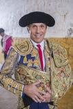 Ο ισπανικός ταυρομάχος Manuel Benitez EL Cordobes για να χαμογελάσει στο τ στοκ φωτογραφία με δικαίωμα ελεύθερης χρήσης
