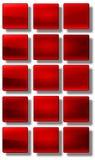 Ο Ιστός κουμπώνει το στιλπνό σύνολο Στοκ εικόνα με δικαίωμα ελεύθερης χρήσης