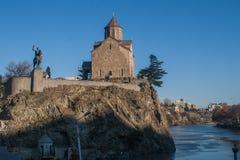 Ο ιδρυτής και η εκκλησία Στοκ Φωτογραφία