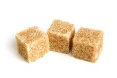 ο κάλαμος κυβίζει τη ζάχαρη Στοκ Εικόνες