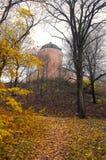 16ο κάστρο αιώνα της Ουψάλα το φθινόπωρο Στοκ φωτογραφία με δικαίωμα ελεύθερης χρήσης