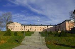 16ο κάστρο αιώνα της Ουψάλα το φθινόπωρο Στοκ Φωτογραφία