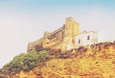 15ο κάστρο Arcos de στο Λα Frontera Στοκ Εικόνες