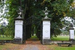 ο κήπος αλεών το παλάτι Στοκ Φωτογραφία