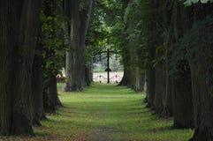 ο κήπος αλεών το παλάτι Στοκ Εικόνα