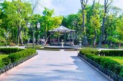 Ο κήπος πόλεων Στοκ εικόνα με δικαίωμα ελεύθερης χρήσης