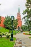 Ο κήπος του Αλεξάνδρου κοντά στο Κρεμλίνο Στοκ φωτογραφία με δικαίωμα ελεύθερης χρήσης