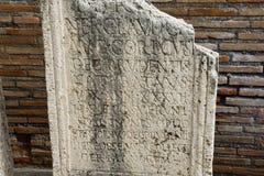 Ο κήπος των λουτρών Diocletian Στοκ εικόνα με δικαίωμα ελεύθερης χρήσης