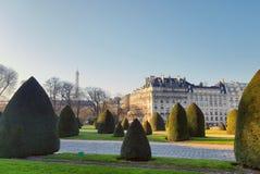 Ο κήπος των invalides, Παρίσι, Γαλλία Στοκ φωτογραφία με δικαίωμα ελεύθερης χρήσης