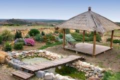 ο κήπος χαλαρώνει Στοκ φωτογραφίες με δικαίωμα ελεύθερης χρήσης