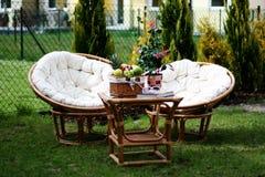 ο κήπος χαλαρώνει Στοκ φωτογραφία με δικαίωμα ελεύθερης χρήσης