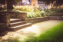 Ο κήπος χαρτοπαικτικών λεσχών χώρων στάθμευσης Στοκ φωτογραφία με δικαίωμα ελεύθερης χρήσης