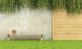 ο κήπος χαλαρώνει απεικόνιση αποθεμάτων