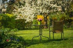 ο κήπος χαλαρώνει Στοκ Εικόνα