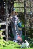 ο κήπος χαλαρώνει Στοκ εικόνα με δικαίωμα ελεύθερης χρήσης