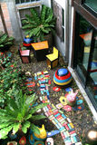 Ο κήπος χρώματος Στοκ φωτογραφία με δικαίωμα ελεύθερης χρήσης