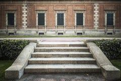 Ο κήπος, Jardins Joan Maragall και το παλάτι Albeniz, σταθμεύουν montjuic, de στοκ φωτογραφίες με δικαίωμα ελεύθερης χρήσης