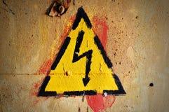 ο κίνδυνος κρατά έξω Στοκ φωτογραφίες με δικαίωμα ελεύθερης χρήσης