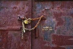 ο κίνδυνος κρατά έξω Στοκ φωτογραφία με δικαίωμα ελεύθερης χρήσης