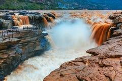 Ο κίτρινος ποταμός στην Κίνα Στοκ Φωτογραφίες