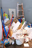 Ο καθαρισμός βρωμίζει Στοκ Φωτογραφία