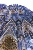 Ο καθεδρικός ναός της Κολωνίας ή ο υψηλός καθεδρικός ναός Αγίου Peter είναι Ρωμαίος - καθολικός καθεδρικός ναός Στοκ Εικόνες