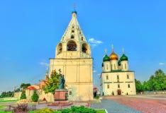 Ο καθεδρικός ναός υπόθεσης σε Kolomna, Ρωσία Στοκ Εικόνες