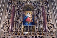 Ο καθεδρικός ναός Monreale Στοκ Εικόνες