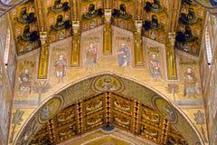 Ο καθεδρικός ναός Monreale Στοκ Φωτογραφία