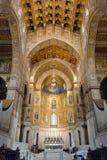 Ο καθεδρικός ναός Monreale Στοκ εικόνα με δικαίωμα ελεύθερης χρήσης