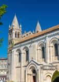 Ο καθεδρικός ναός Αγίου Peter του Angouleme ενσωμάτωσε το Romanesque ύφος - Γαλλία, Charente Στοκ εικόνα με δικαίωμα ελεύθερης χρήσης