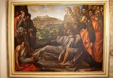 Ο καθεδρικός ναός Αγίου Rufino, Assisi, Ιταλία Στοκ Φωτογραφίες