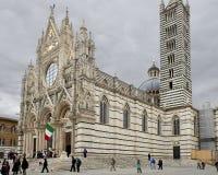 Ο καθεδρικός ναός ιταλικά της Σιένα: Di Σιένα Duomo Στοκ φωτογραφία με δικαίωμα ελεύθερης χρήσης