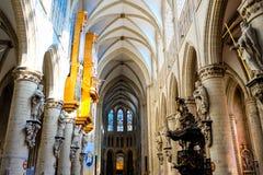 Ο καθεδρικός ναός μέσα Στοκ εικόνες με δικαίωμα ελεύθερης χρήσης