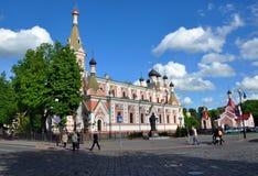 Ο καθεδρικός ναός μεσολάβησης σε Γκρόντνο Στοκ εικόνες με δικαίωμα ελεύθερης χρήσης