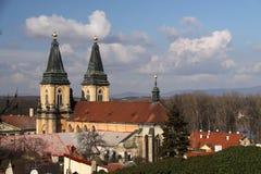 ο καθεδρικός ναός 1591 προσεγγίσεων υπερασπίζει donskoy ιδρυμένο προοριζόμενο σημαντικό μοναστήρι Μόσχα του Κρεμλίνου που μικρός  στοκ φωτογραφίες