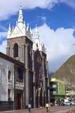 Ο καθεδρικός ναός σε Banos, Ισημερινός Στοκ Εικόνες