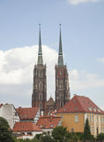 Ο καθεδρικός ναός σε Wroclaw Στοκ εικόνες με δικαίωμα ελεύθερης χρήσης