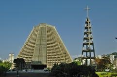 Ο καθεδρικός ναός στο Ρίο ντε Τζανέιρο στοκ φωτογραφίες