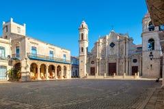 Ο καθεδρικός ναός της Αβάνας στην Κούβα Στοκ φωτογραφίες με δικαίωμα ελεύθερης χρήσης