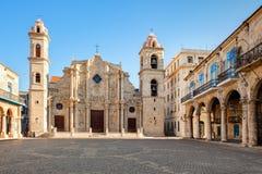 Ο καθεδρικός ναός της Αβάνας στην Κούβα Στοκ εικόνες με δικαίωμα ελεύθερης χρήσης