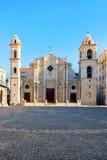 Ο καθεδρικός ναός της Αβάνας στην Κούβα Στοκ Εικόνες