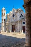 Ο καθεδρικός ναός της Αβάνας στην Κούβα Στοκ Φωτογραφία