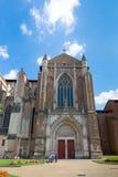 Ο καθεδρικός ναός της Τουλούζης είναι Ρωμαίος - καθολικός καθεδρικός ναός Στοκ εικόνα με δικαίωμα ελεύθερης χρήσης