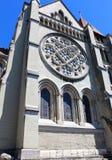 Ο καθεδρικός ναός της Notre-Dame, Λωζάνη, Ελβετία Στοκ εικόνα με δικαίωμα ελεύθερης χρήσης